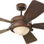 monte carlo battery operated ceiling fan in wooden plus steel and lamps