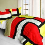 multiple color comforter