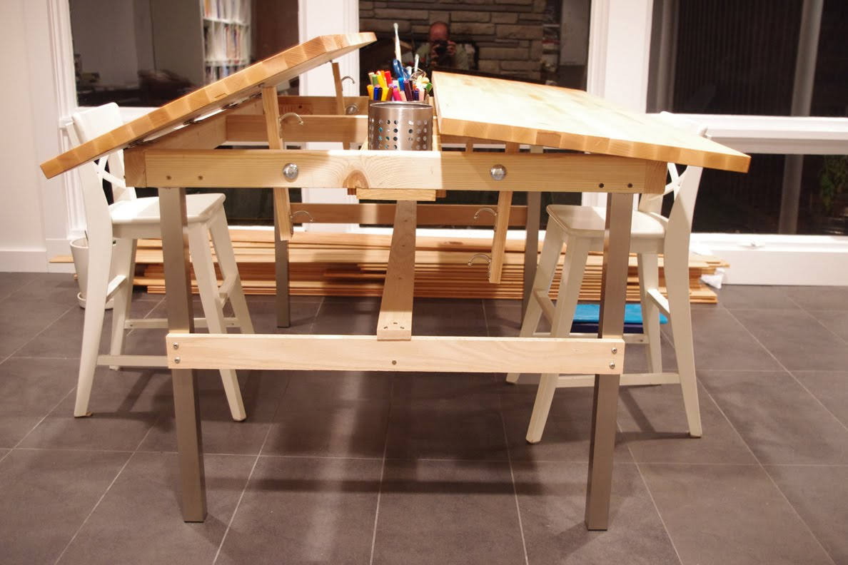 Wooden Kitchen Ikea Table