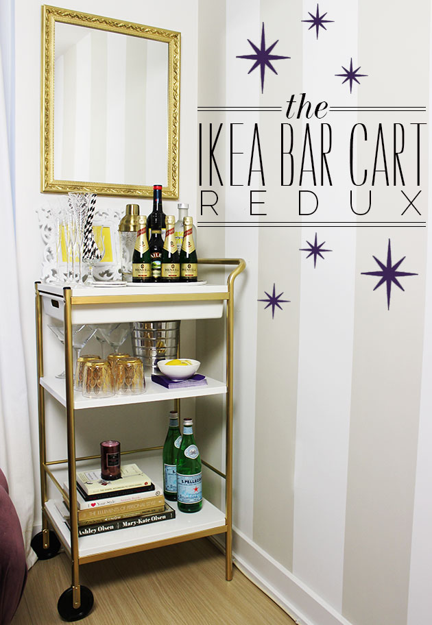 fancy bar cart ikea that you can decorate by yourself. Black Bedroom Furniture Sets. Home Design Ideas