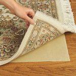 rubber rug best rug pad for hardwood floors in light brown and beige modern rug