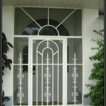 screen door  with sideligh features
