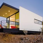 simple and minimalist home design with zero energy concept