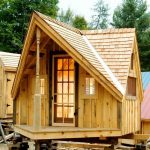 small rustic home design as a ranch or cabin for vacation use