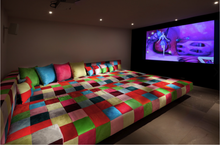 Home theater design and installation homesfeed Home theater bedroom design ideas