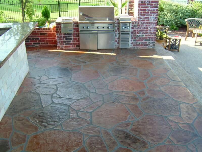 Several Outdoor Flooring Over Concrete Styles To Gain Not