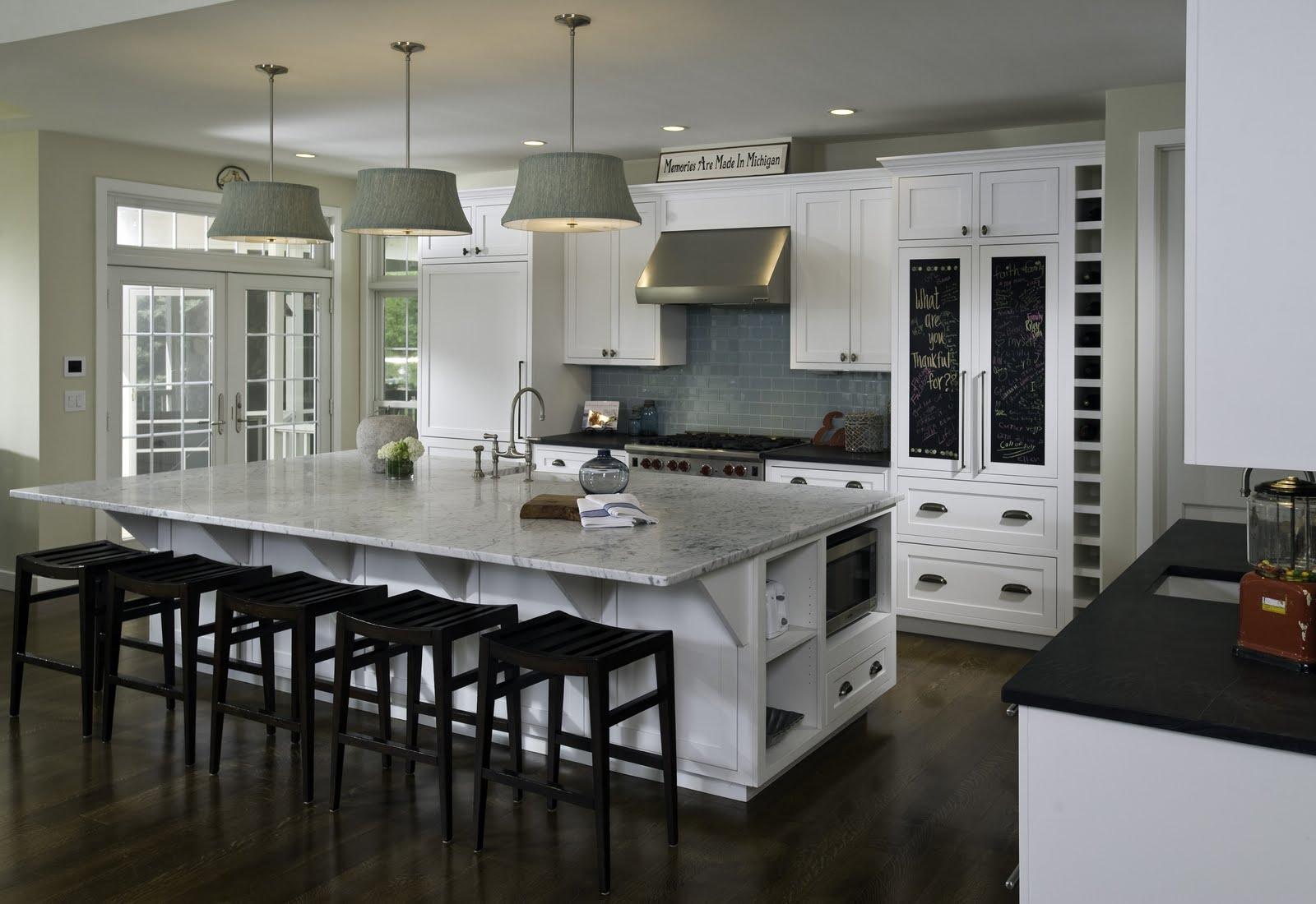 Large Kitchen Island Designs And Plans: Large Kitchen Islands With Seating And Storage That Will