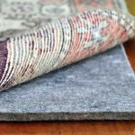 thick best rug pads for hardwood floors under the rug for anti slip and home interior