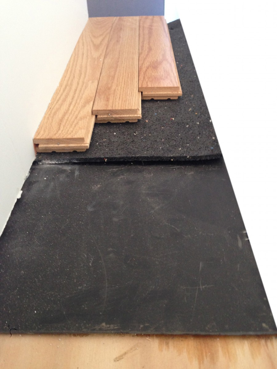 Hardwood floor underlayment recommendation gurus floor for Hardwood floors underlayment