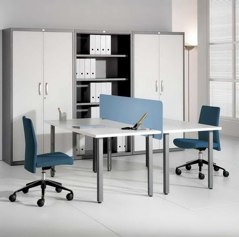 rousing and smart home office ideas with 2 person desk at ikea