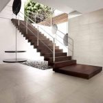 white ceramic tiles floors look like wood white wood floors for contemporary interior home design a stair system in brown with white metal railings