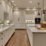 white kitchen remodeling northern va together with white wooden cabinets and granite countertop plus kitchen sink and wooden floor