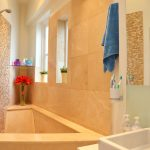 awesome bathroom decoration with yellow theme