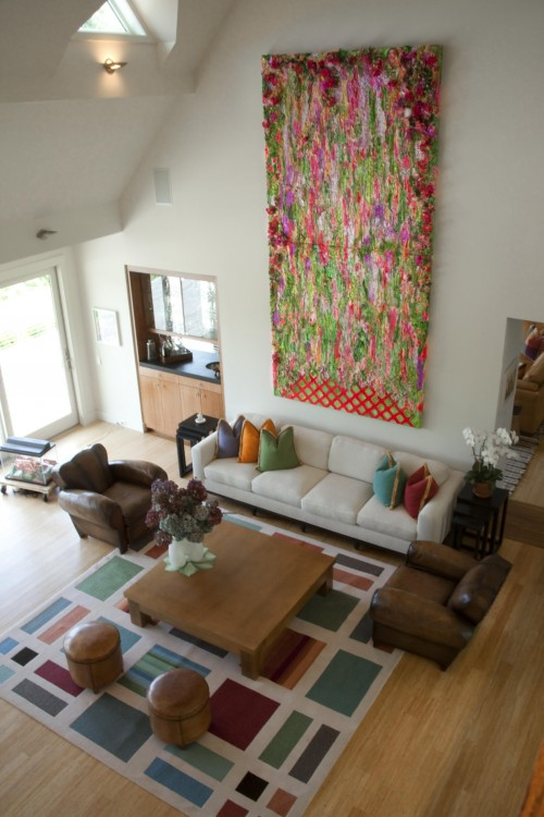 Proper Placement Of Area Rug In Living Room