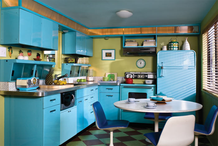 awesome turquoise kitchen cabinets dining | Turquoise Kitchen Cabinets for Any Kitchen Styles | HomesFeed