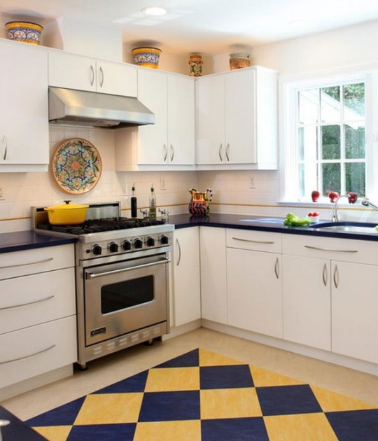 Blue Kitchen Rug: Kitchen Rug Ideas: Nay Or Yea?