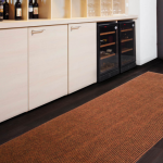 Jute kitchen rug for kitchen a kitchen set and wine shelves