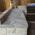 Marble countertop for outdoor