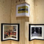 Marvelous picture frames as corner decoration