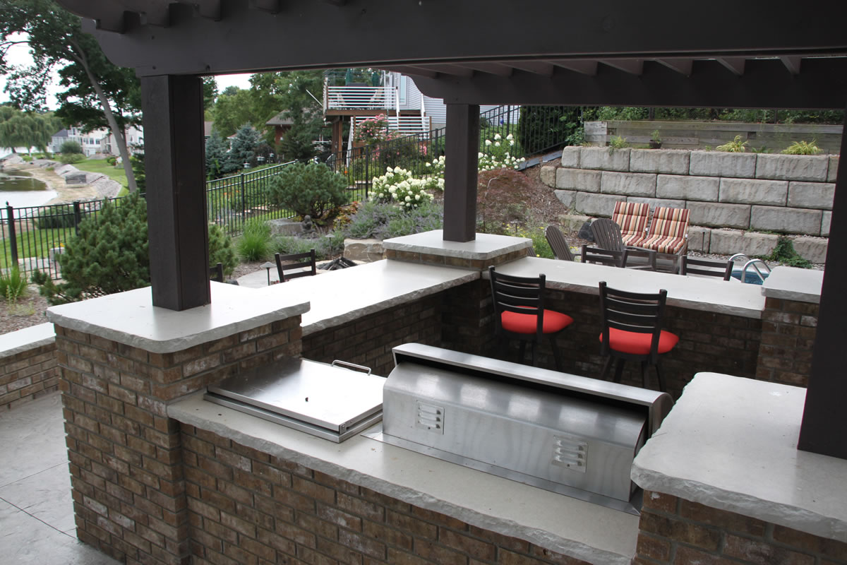 Outdoor Kitchen Countertop Choices