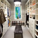 Pendant lighting fixture idea for closet room large closet organizers with shelves and drawers a shoes organizer a settee furniture in black