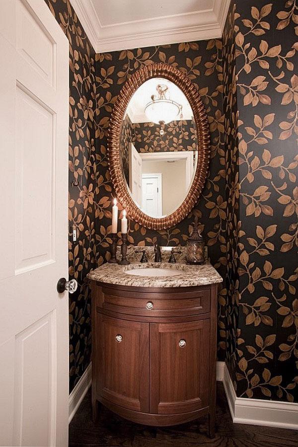 Small powder room designs homesfeed - Small powder room decor ...
