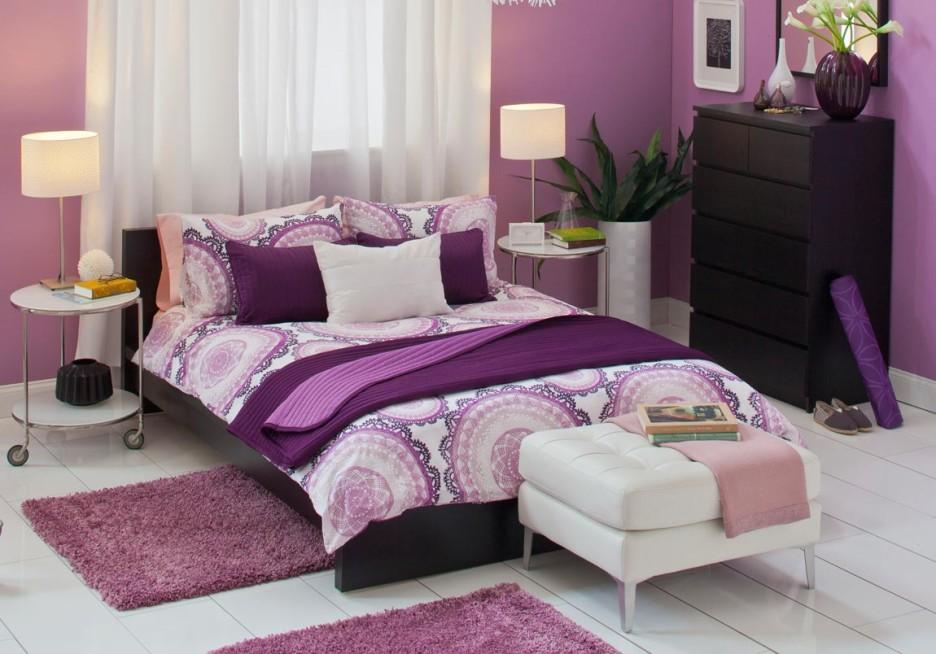 Important Things of Purple Bedroom Decor - HomesFeed