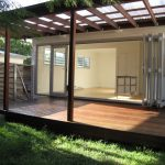 Semi transparent cover for home deck wood floor idea for home deck