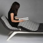 Sleeping-bag-chair design with longer body
