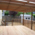 Wood planks as deck cover wood plank floors for deck simple wood railing in vertical style