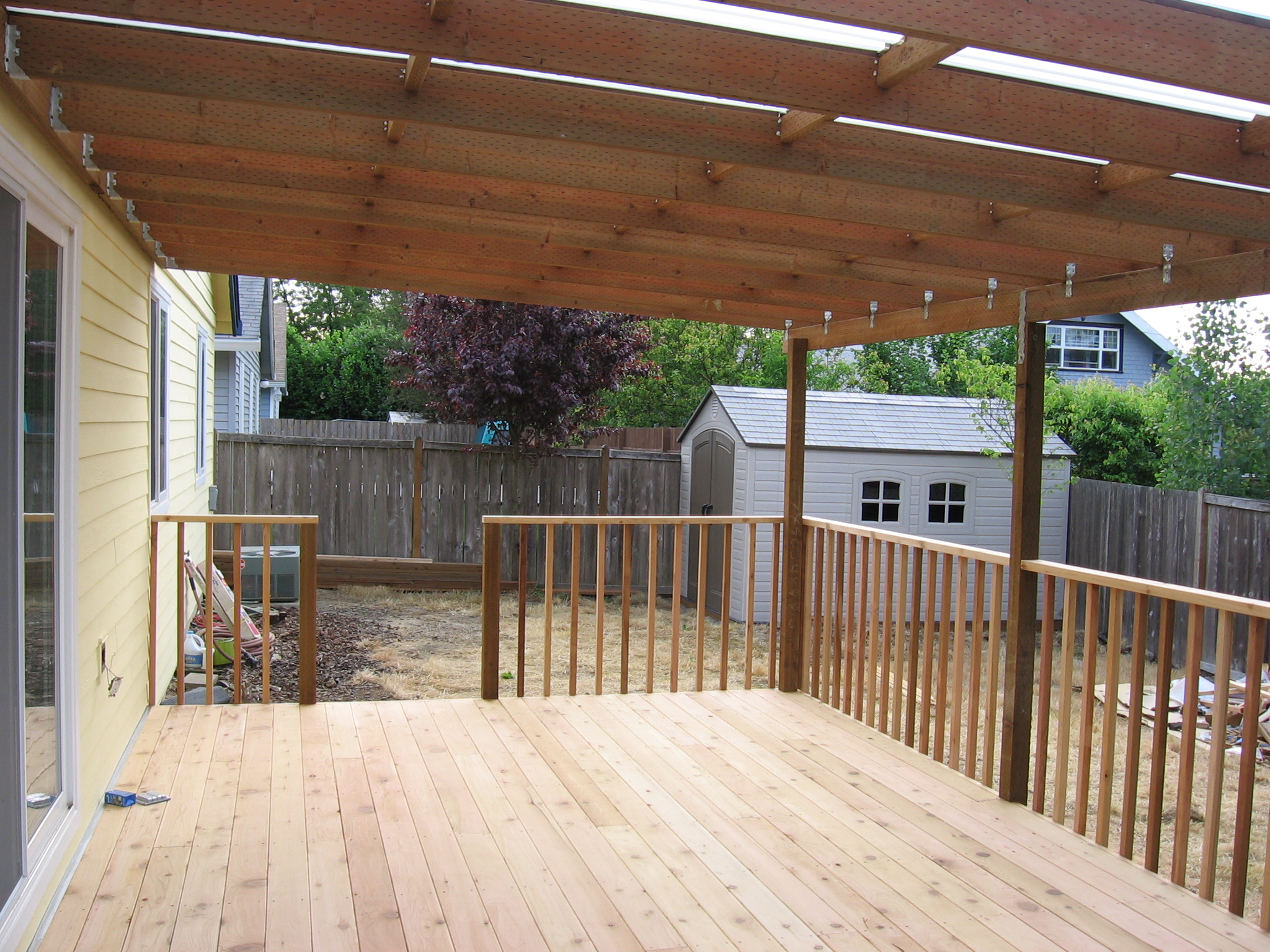 Deck Cover Ideas - HomesFeed