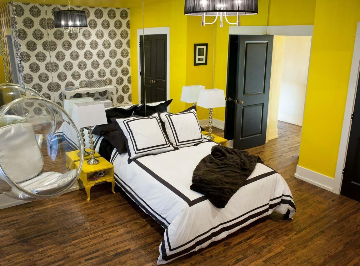Yellow Wall Paint to Create Cheerful and Fraesh Nuance in ...