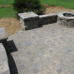 awesome brick paver calculator with natural stones for beautiful patio feat green garden