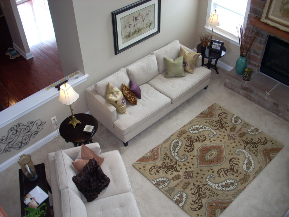 How To Put Rug In Living Room