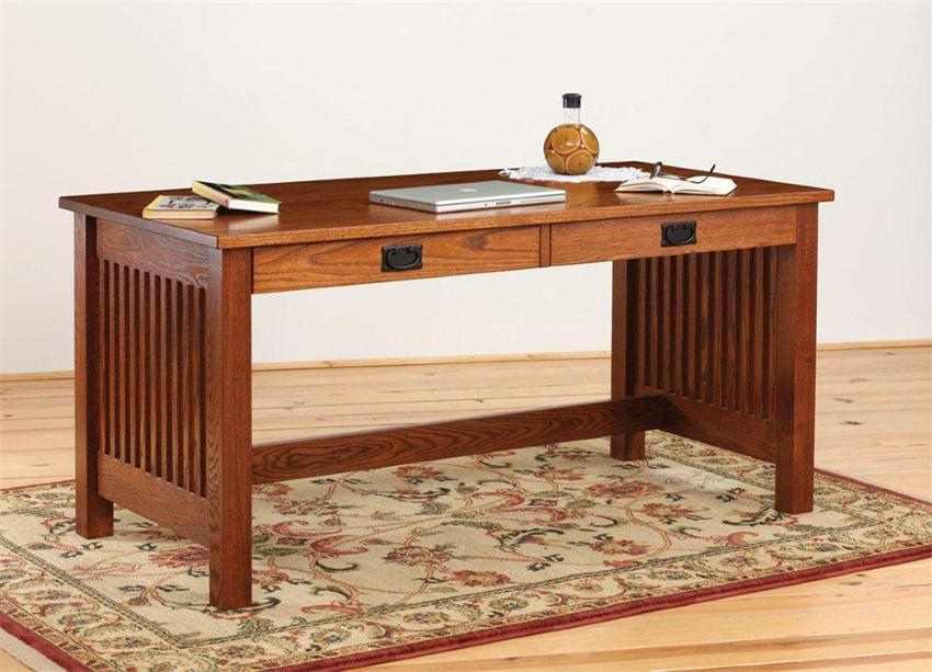 Awesome Wooden Writing Desks For Small Es With Drawer Decorated Modern Rug On Hardwood Floor