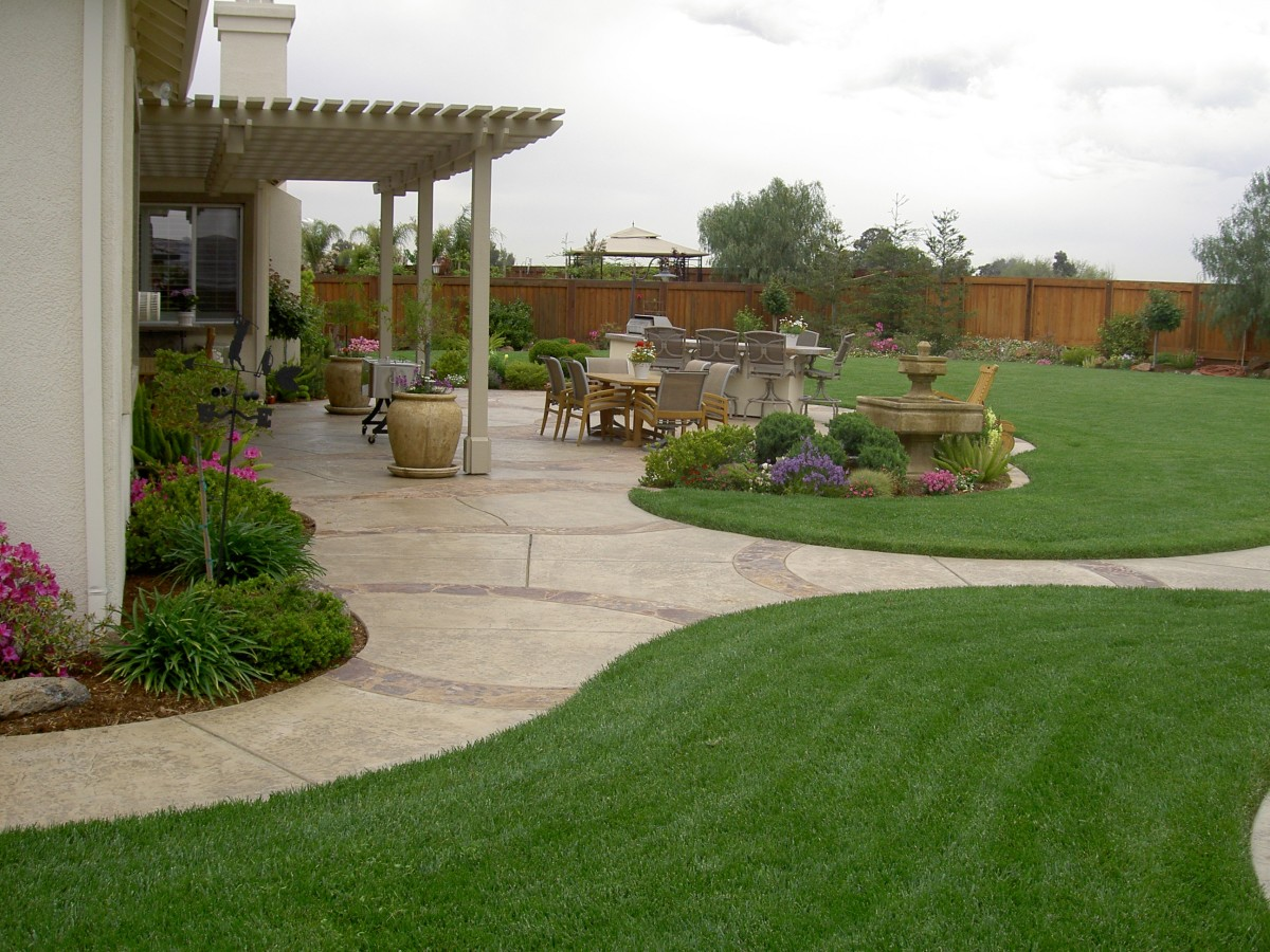 Inspiring landscaping ideas that create beautiful and for Big yard landscaping ideas