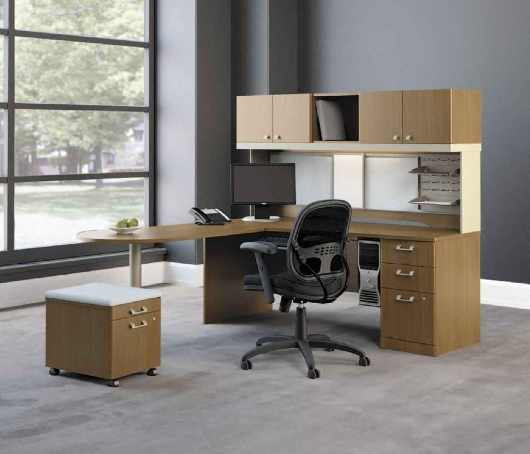 Modular Home Office Furniture Designs Ideas Plans: Perfect Your Office Look With Modular Desk Component For