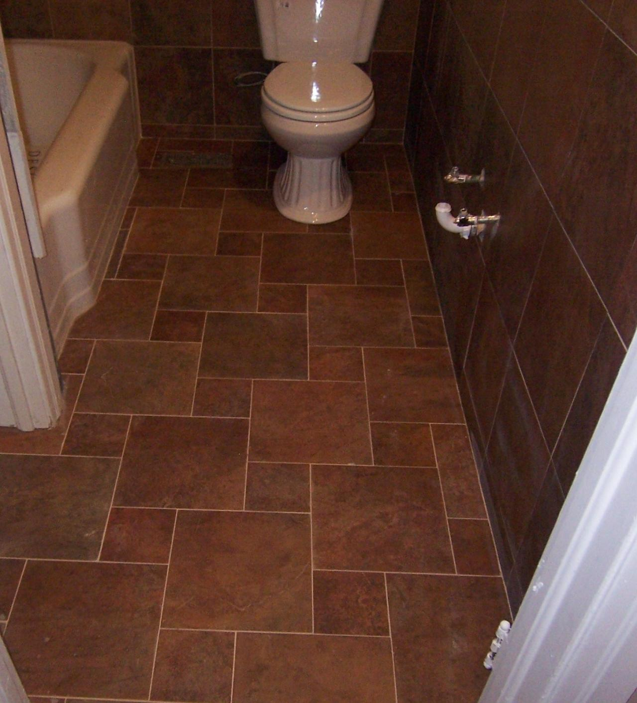best floor tile for bathroom best flooring for bathroom that enhance the sophistication 22655