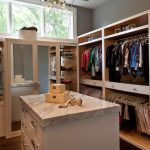 california closets nyc reviews with large wooden storage and mirror on door plus drawer at the center