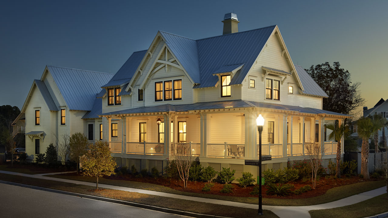 Unique and historic charleston style house plans from for Charleston side house plans