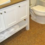cork floor in bathroom and cork flooring in bathroom pictures for affordable bathroom ideas with modern wooden bathroom vanity units and toilets