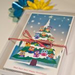 cute unique boxed christmas cards unique boxed holiday cards  with cartoon theme for kids and teenagers