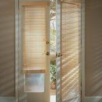 front door window curtains and front door window coverings plus front door window treatments for french door with blinds and cool tile floor