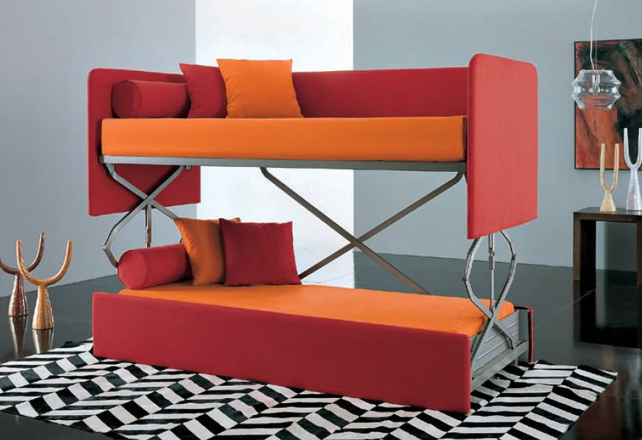 minimize your interior with couch that turn into bed for stylish and compact furniture homesfeed. Black Bedroom Furniture Sets. Home Design Ideas
