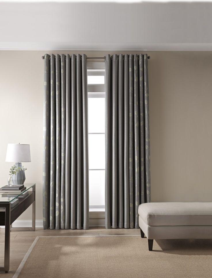 Impressive Martha Window Treatments With Modern Curtain Panel And Basket Wave Rug Sofa Bench