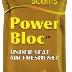 longest lasting air freshener power bloc underseat air freshener with california scent and coconut super strength