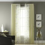 martha stewart window treatments with soft top curtain panel decorated for windows in living room with comfy chair and round table plus modern rug