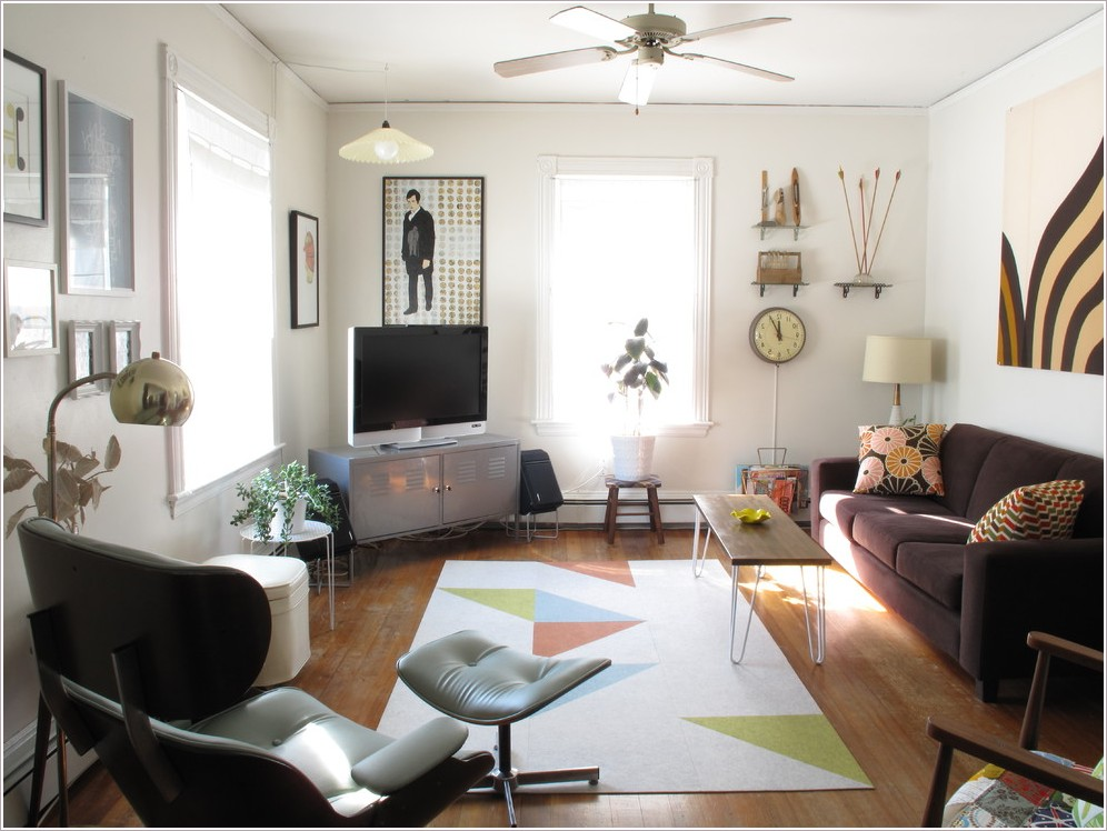Install A Mid Century Modern Ceiling Fan That Will Give Both Classic And Modern Accents On Your