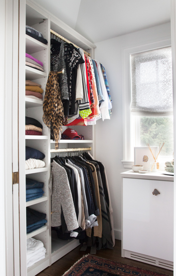 Modern White California Closets Nyc Reviews With A Lot Of Shelving And  Hanging Rods Plus Persiant