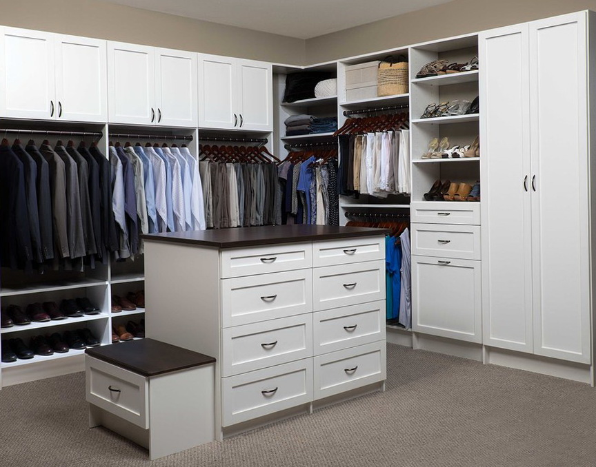Large Living Room Closets